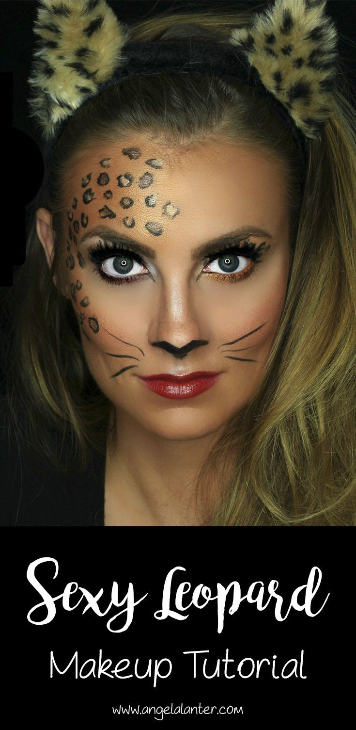 Photo of VIDEO: Sexy Leopard Makeup Tutorial // Halloween Series! – Hello Gorgeous, by Angela Lanter