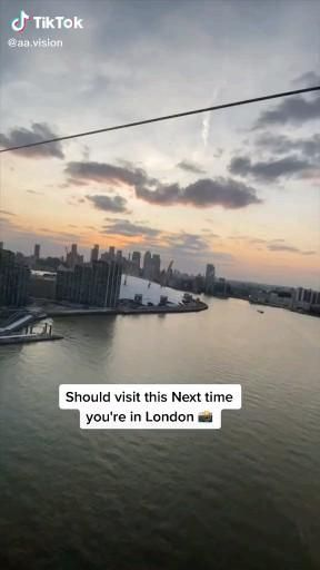 London Views Via Cable Car Video Reisen Reiseziele Reisen In Europa