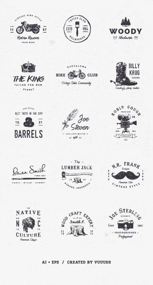 9 Free Collections of Elegant Vector Logo Design Templates - Mockup ...