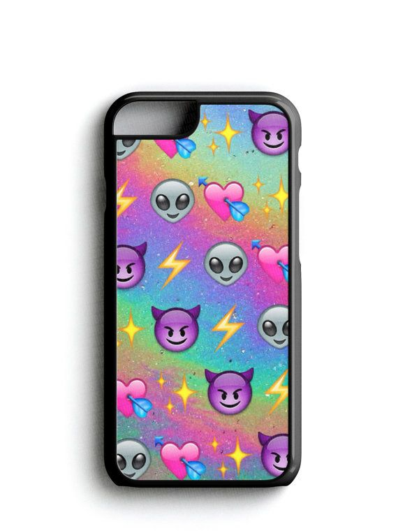 naughty alien purple devil emoji phone case iphone samsung - Emoji Iphone Gratuit