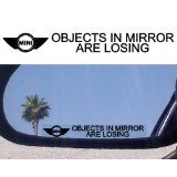 objects in mirror are losing...