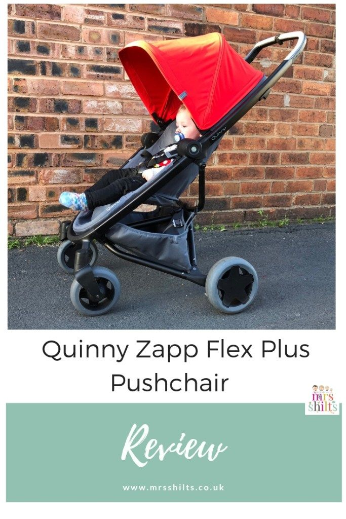 Quinny Zapp Flex Plus Pushchair // Review (With images