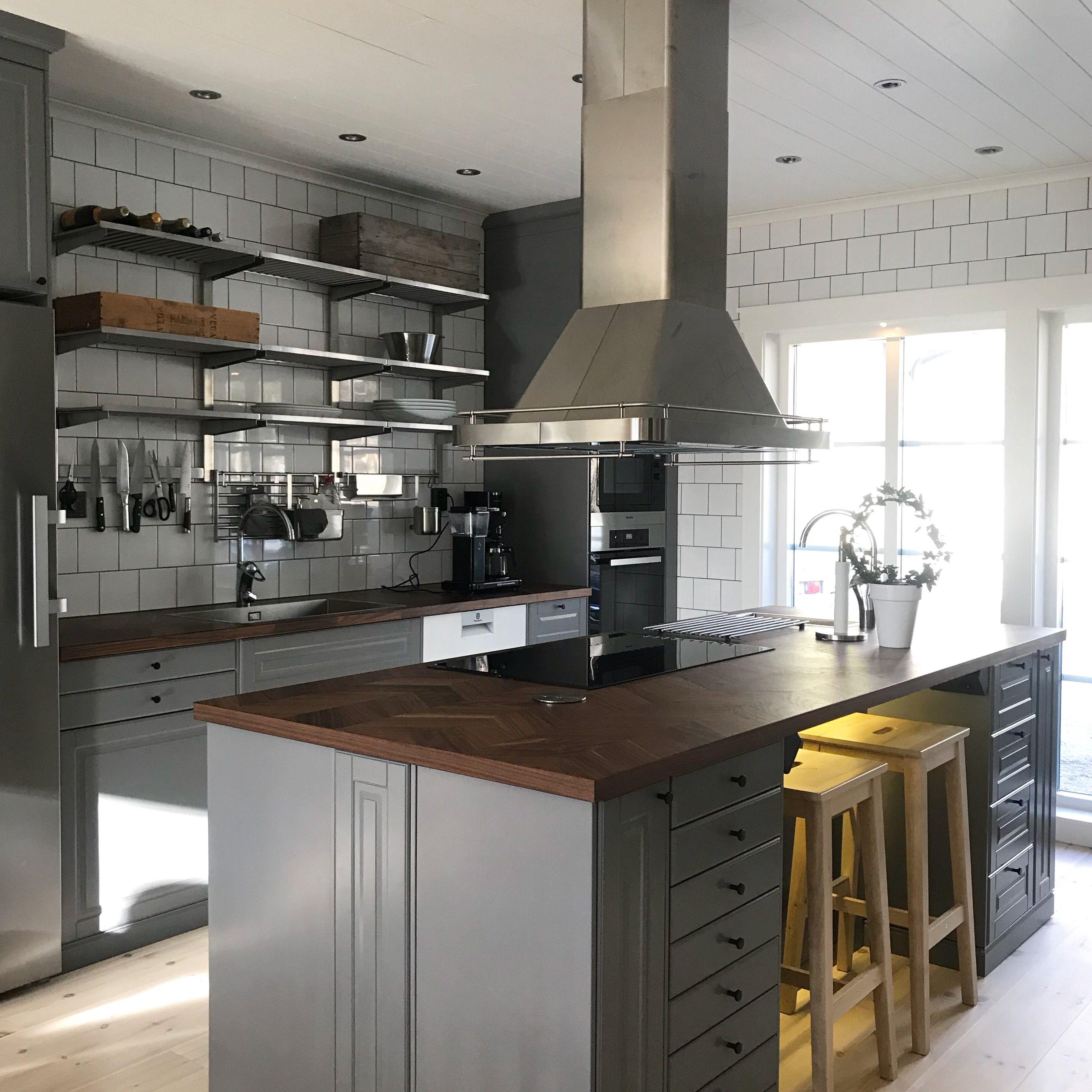 My new Ikea Kitchen. Lantliga kök, Kök, Instagram