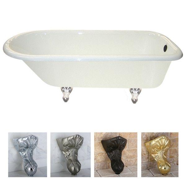 Queen Elizabeth 67 Inch Clic Cast Iron Clawfoot Tub