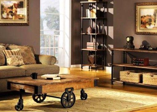 Modelos de muebles r sticos de madera manualidades y for Decoracion hogar rustico