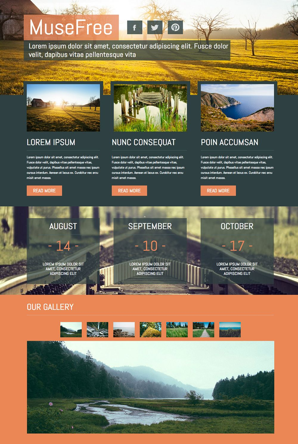 We Have Just Release This Amazing Muse Theme Template Which You Can
