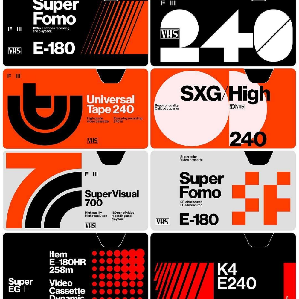 Vhs Tape Poster Google Search Typography Design Graphic Design Logo Graphic Design Posters