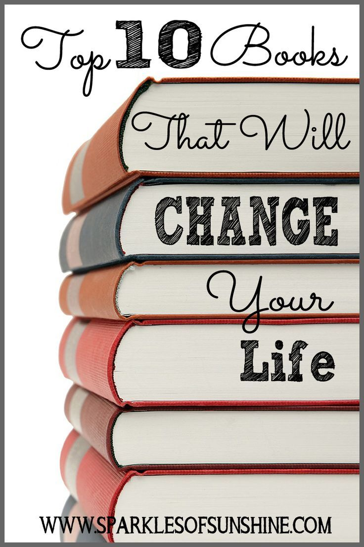 Need inspiration today? Check out this top 10 list of books that will change your life.