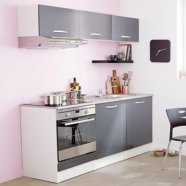 Eko Cuisine Meuble De Cuisine Haut Gris 2 Portes Alinea Mobilier De Salon Meuble Salle A Manger Meuble Cuisine