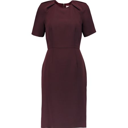 Featuring a chic selection of smart separates, Iris and Ink - the home-grown brand from NET-A-PORTER's discounted sister site, The Outnet - offers a host of luxe pieces at a reasonable price point: think silky pussy-bow blouses, chunky shearling coats, cinnamon-hued culottes and burgundy day dresses.