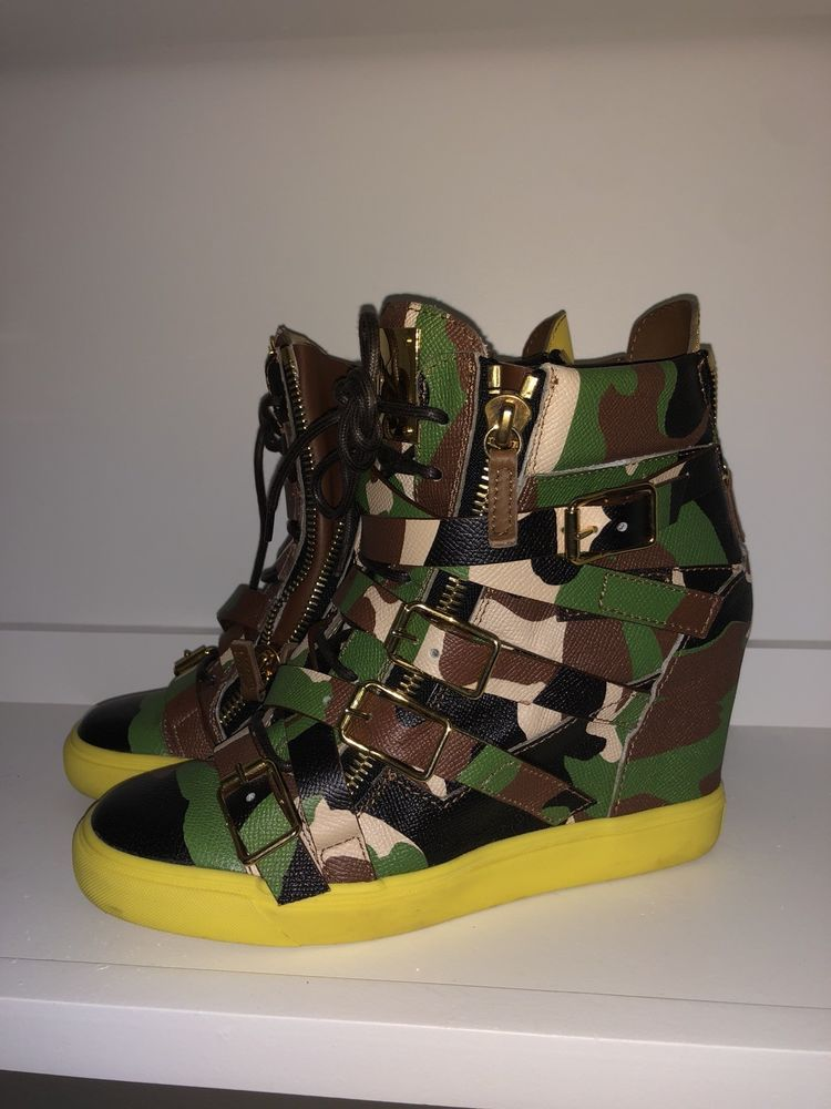 1e356d0260d giuseppe zanotti wedge Sneaker Size 41  fashion  clothing  shoes   accessories  womensshoes  athleticshoes (ebay link)
