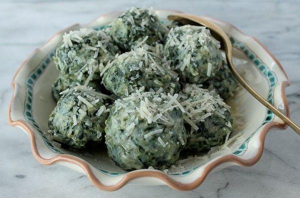 Gnocchi Verdi (Italian Spinach Dumplings) - The Culinary Cellar