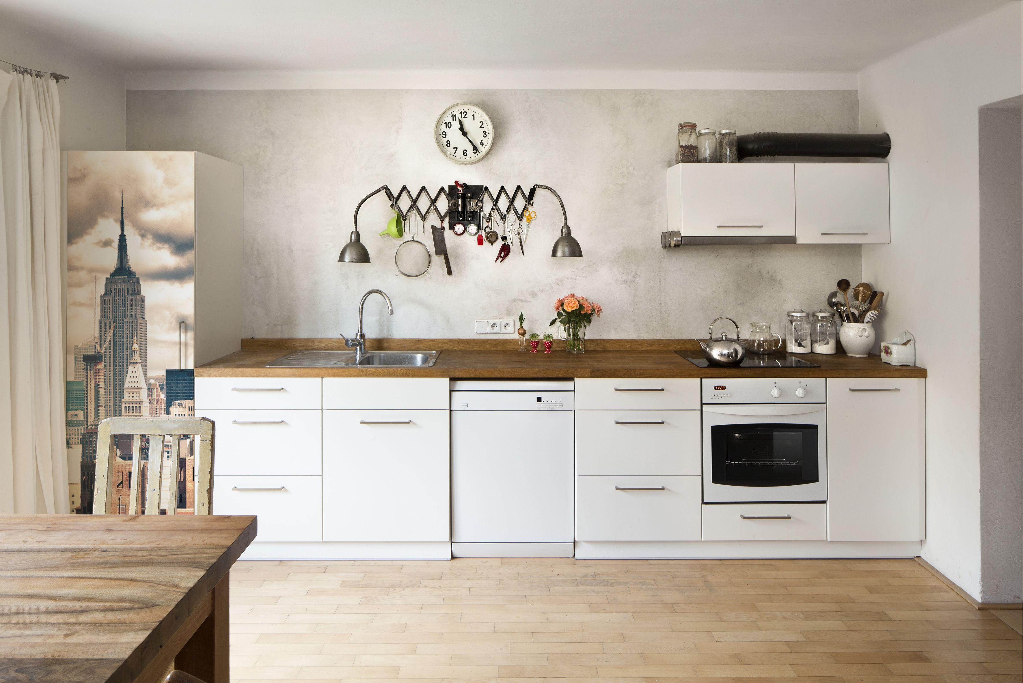 Hol dir das Empire State Building in die Küche! #kühlschrankfolie #creatisto #küche