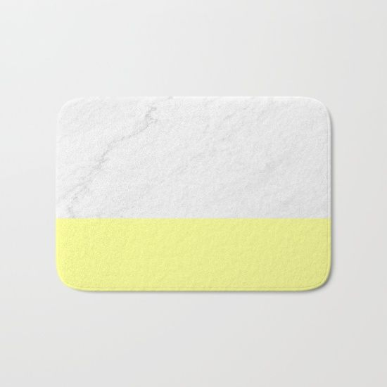 hibiscus pin the in finely bath with enhanced fuzzy and perfect yellow mat foamy mats