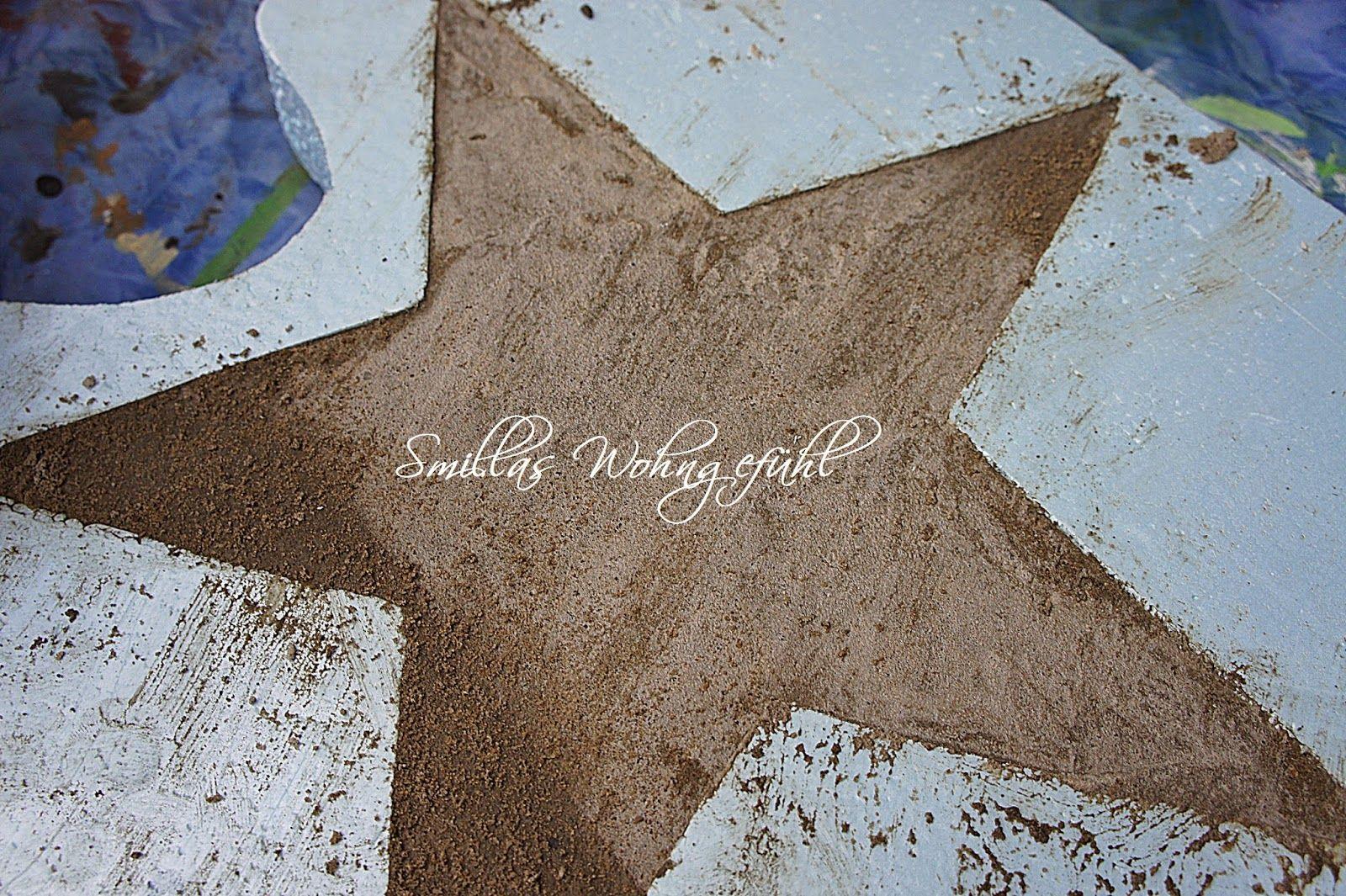 DIY: a star is born! Beton-Sterne ;-) | Sterne, Beton diy und Beton ...