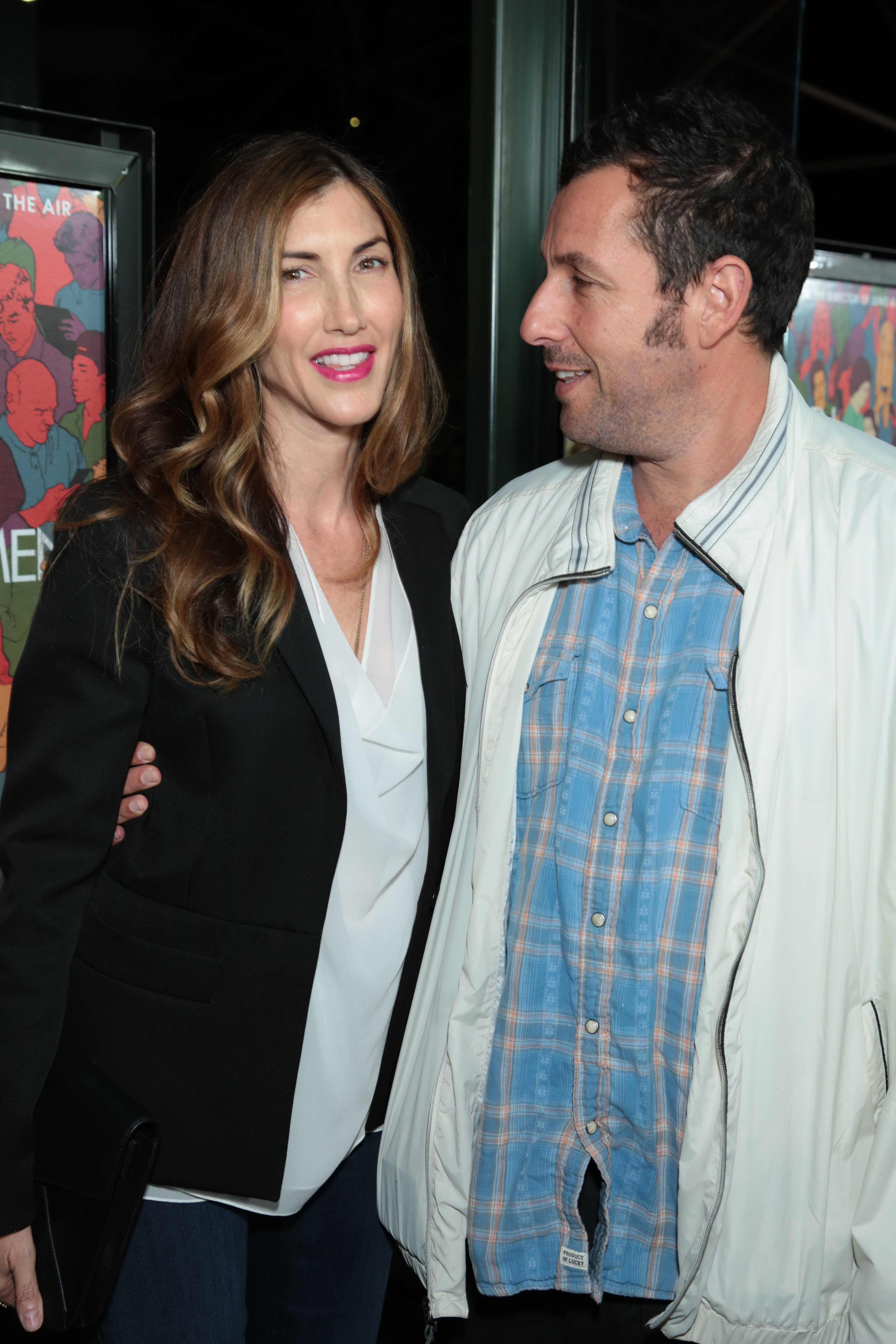 Adam Sandler and wife Jackie Sandler Jackie sandler