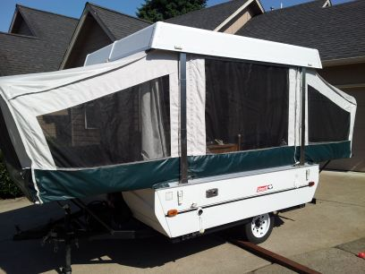 Coleman Fleetwood Taos Tent Trailer 3199 Thurston Tent