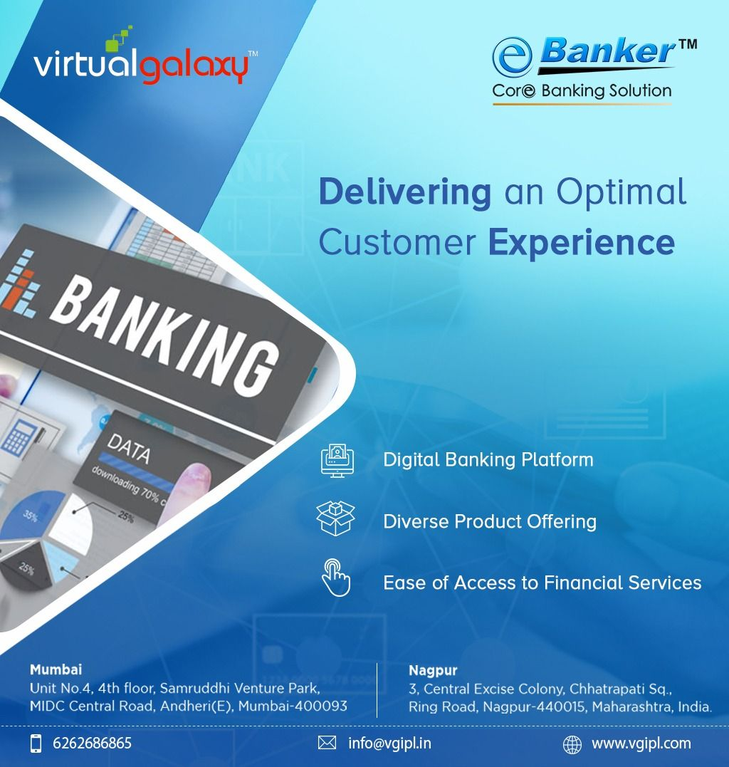 Vgipl Has Been Providing Corebankingsolutions To The Banking And Finanacial Service Industry For 25 Years Various Bank In 2020 Core Banking Banking Banking Services