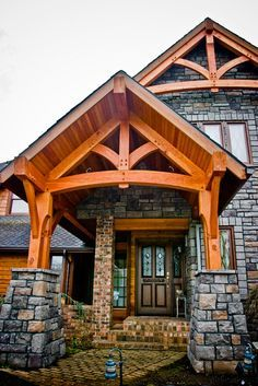 Image Result For Post And Beam Gable Porch Outdoor Life