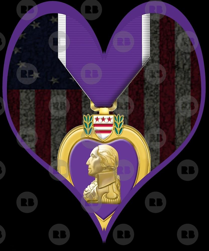 Purple Heart Day Betsy Ross Usa Flag Purple Heart Combat Veteran By Adil Adi Redbubble Purple Heart Day Purple Heart Heart Day