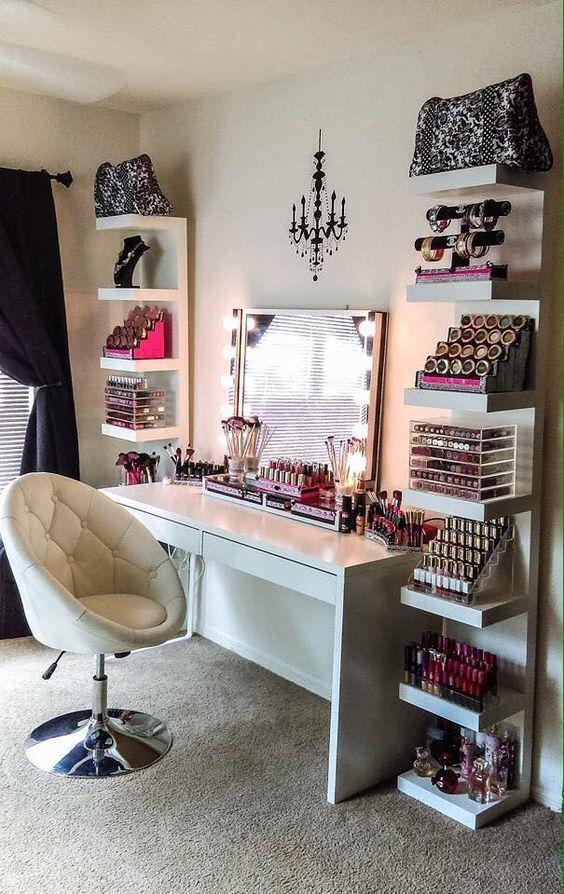 7 dreamy beauty vanities | makeup | Pinterest | Vanities, Room and on