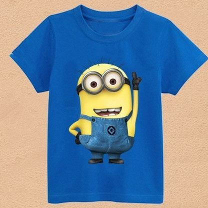 Children/'s Boys and Girls Character T Shirts