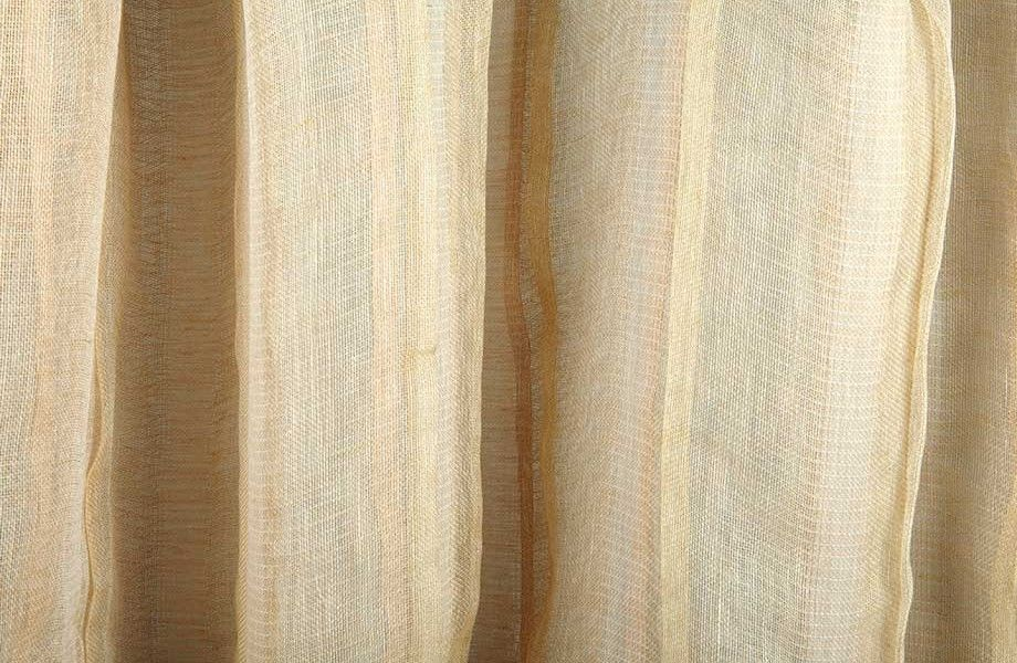 Seven Veils Sheer Drapery Fabric In Wood Rose Is A Blush Pink
