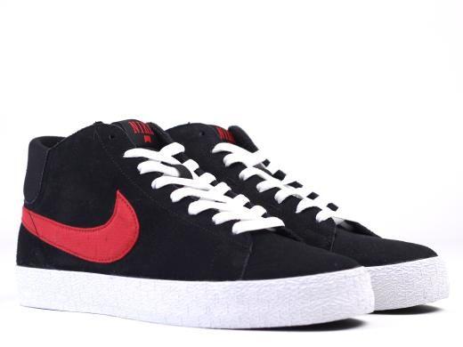 Chaussures Nike Blazer Mid Lr - Noir / Université Rouge / Métal Vieilli