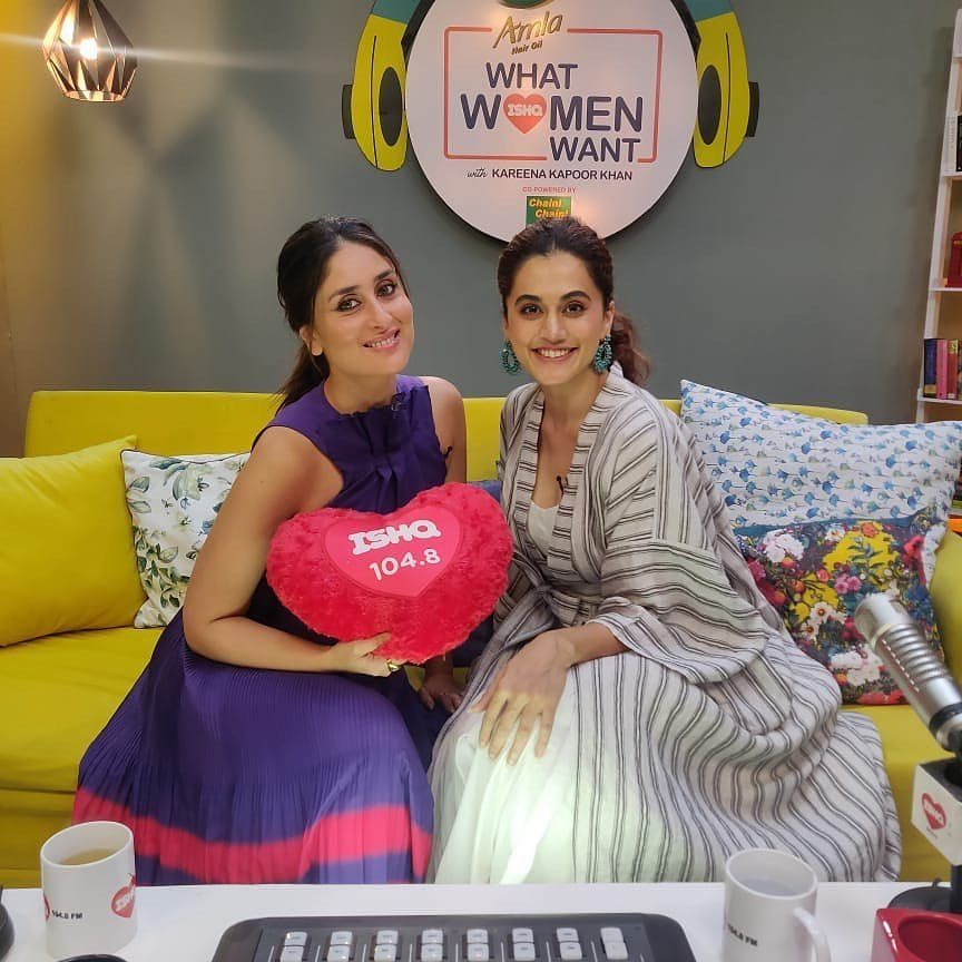 Kareena Kapoor S Latest Trendy Pick For Her Radio Show Will Force You To Take Fashion Notes From Hungryboo Kareena Kapoor Khan Fashion Bollywood Photos