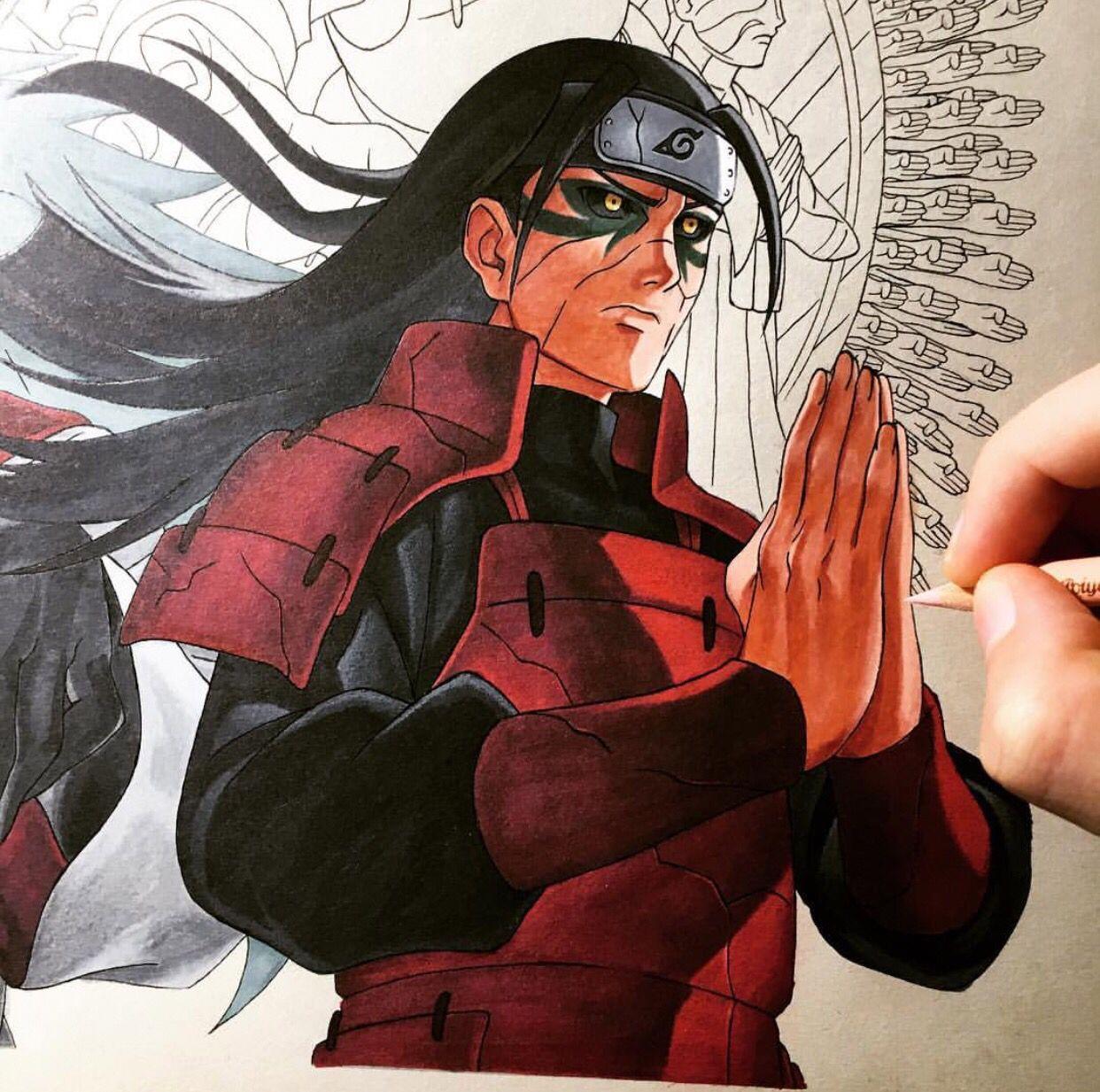 God Of Shinobi Anime Naruto Drawings Naruto Art