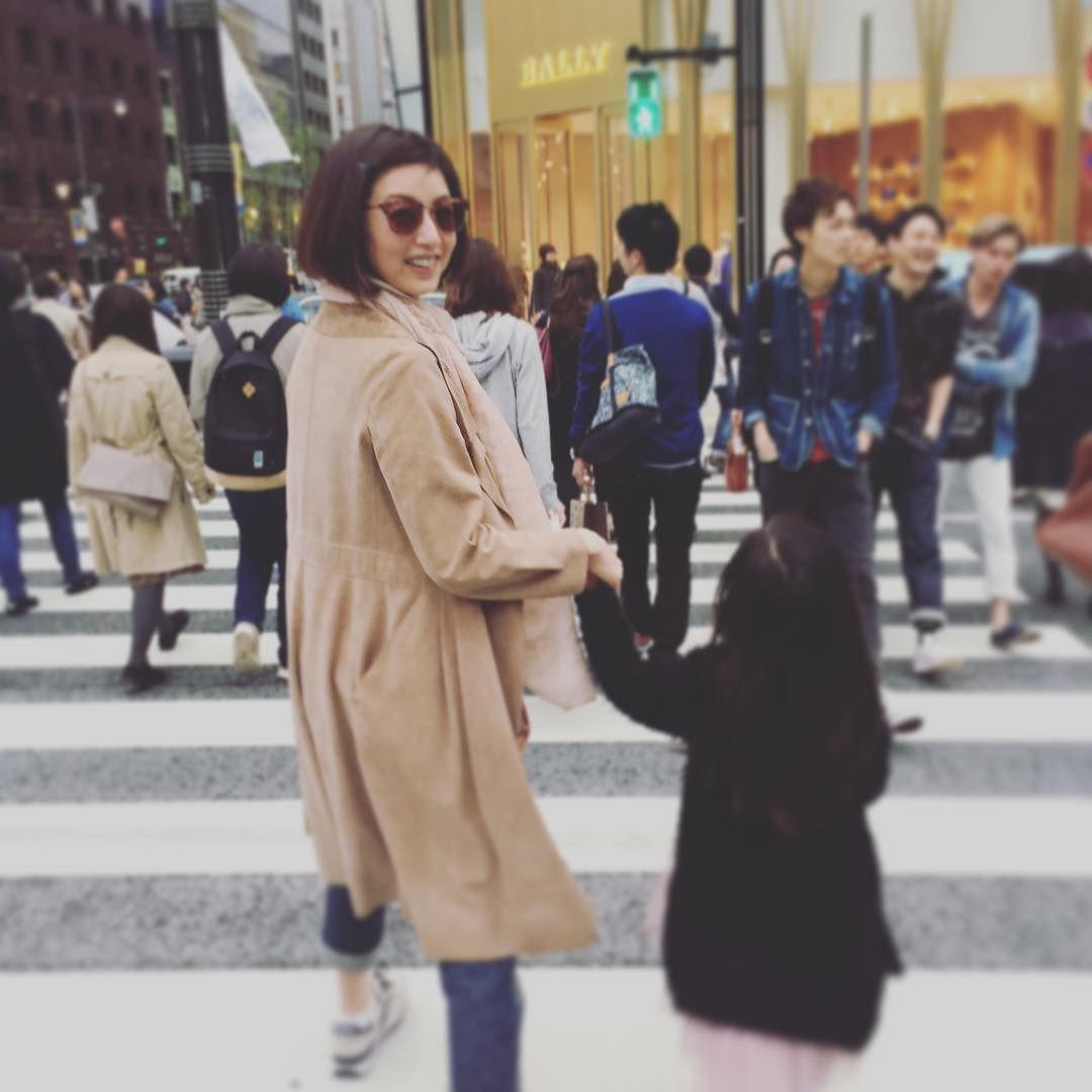 娘ちゃんと銀ぶら笑 by saki_takaoka