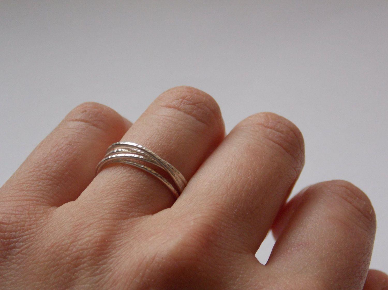 Bague 4 anneaux entrelaces