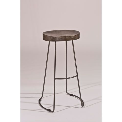 Hobbs Distressed Black Tractor Non Swivel Counter Stool Hillsdale Furniture  Counter Height | Itu0027s Livable | Pinterest | Counter Stools, Black And  Furniture