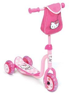 D'Arpèje - OHKY05 - Hello Kitty - Trottinette pour Enfants  - Trottinette 3 roues Hello Kitty - http://kidstoysplanet.com/toys-games/tricycles-scooters-wagons/d39arpje-ohky05-hello-kitty-trottinette-pour-enfants-trottinette-3-roues-hello-kitty-fr/?http://kidstoysplanet.com/
