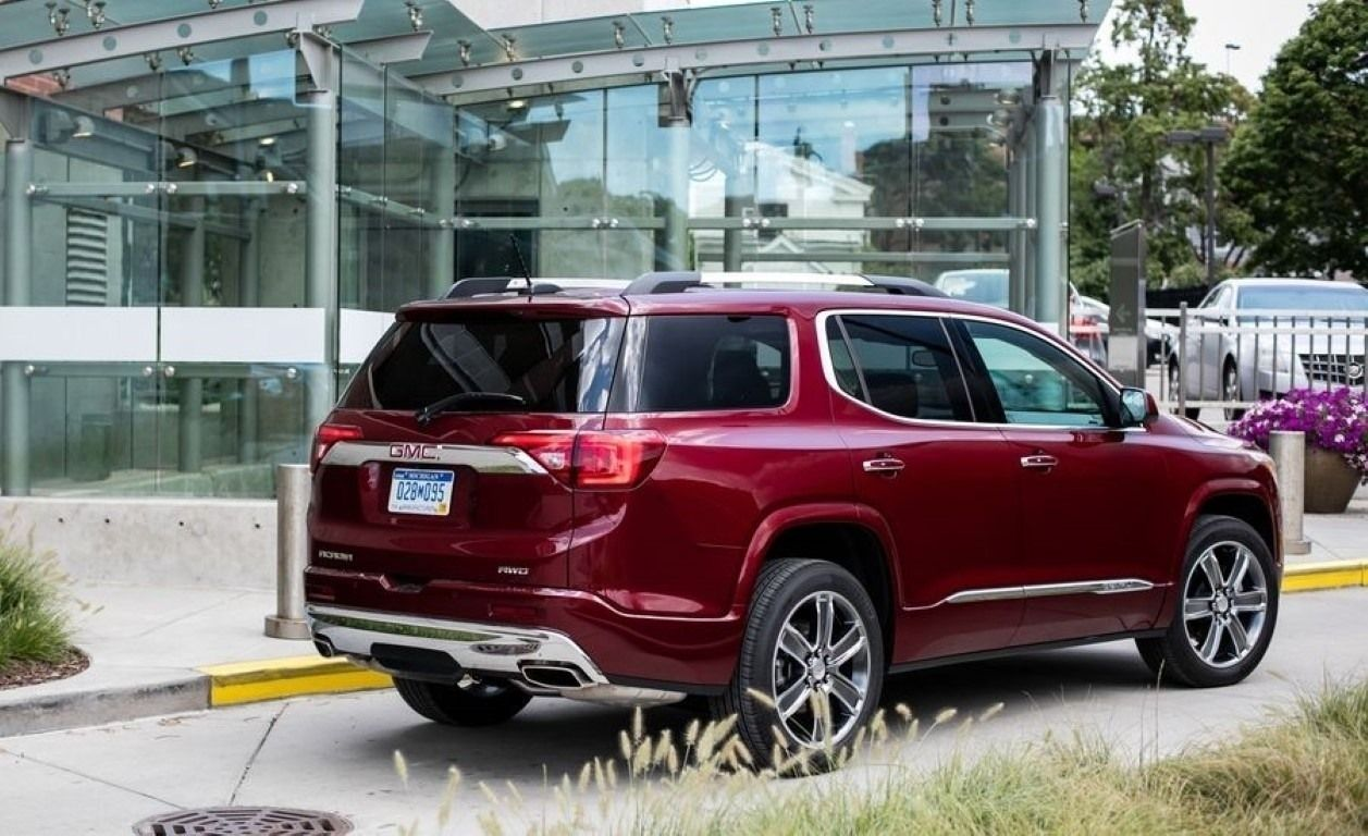 2019 Gmc Acadia Denali Colors Redesign Price And Review