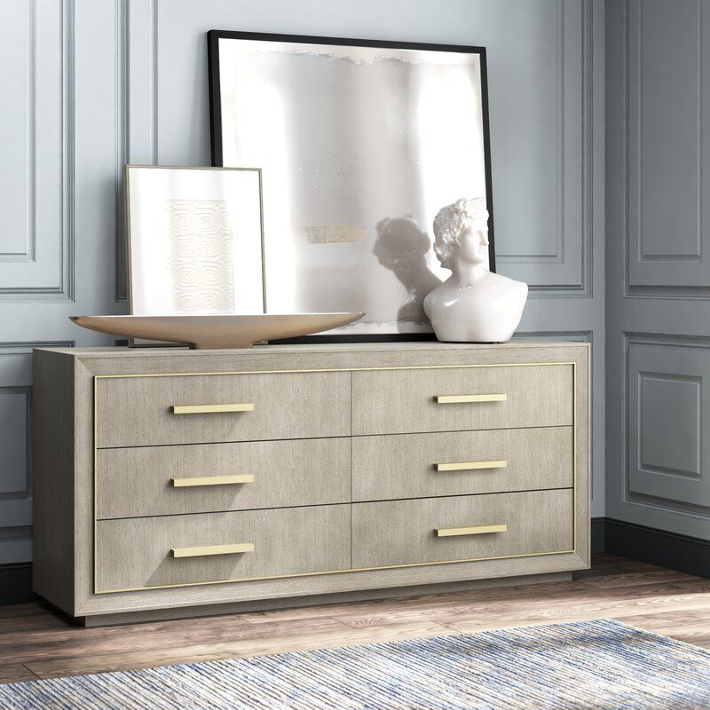 Monarch Kendall 6 Drawer Double Dresser Double dresser