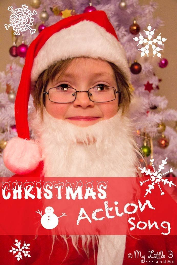 A Christmas Action Song For Children (+playlist) | Christmas songs for kids, Christmas concert ...