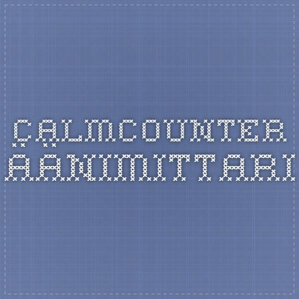 calmCounter äänimittari