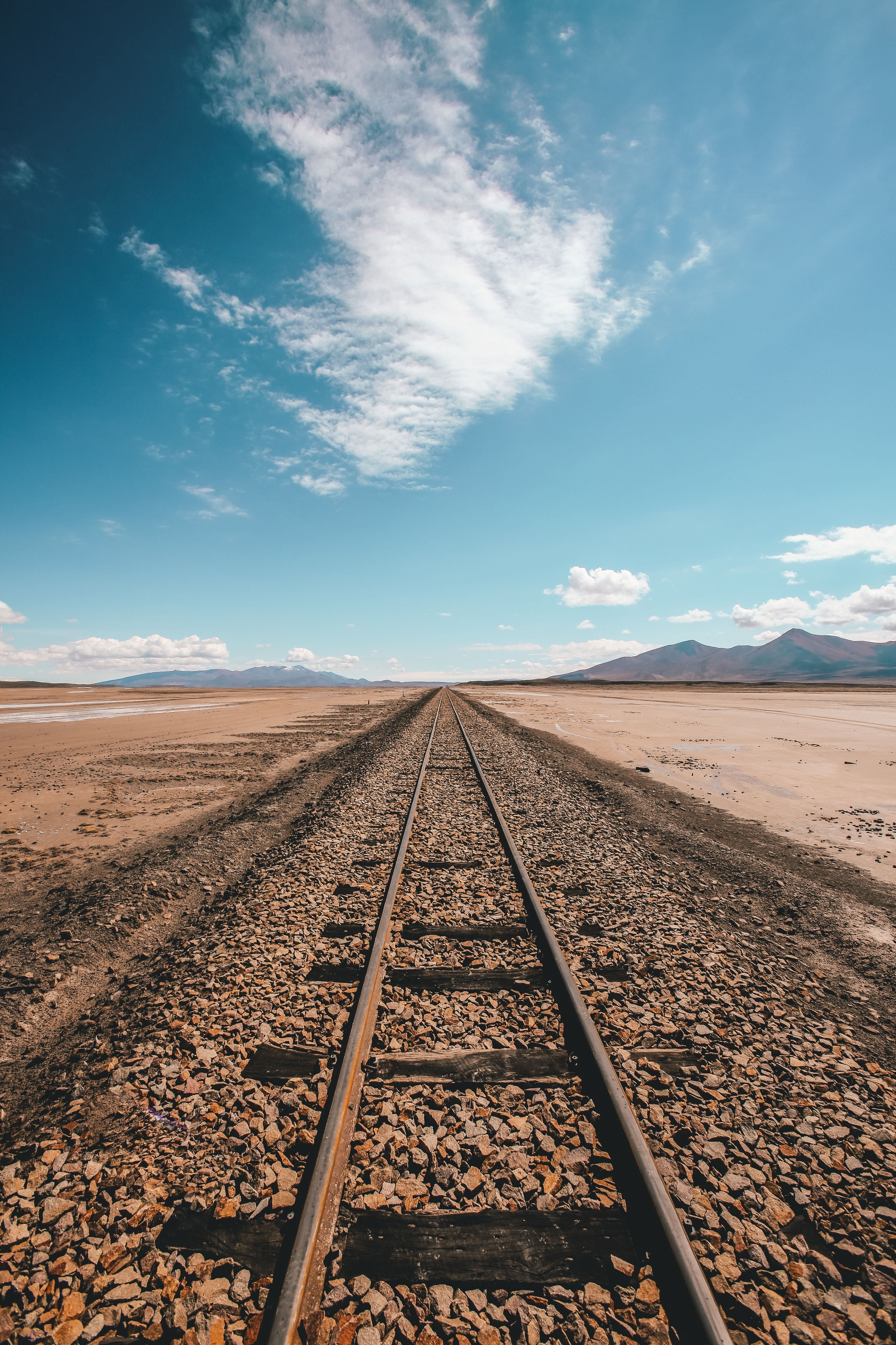 The Lonely Railway Through The Plains In 2019 Mobile