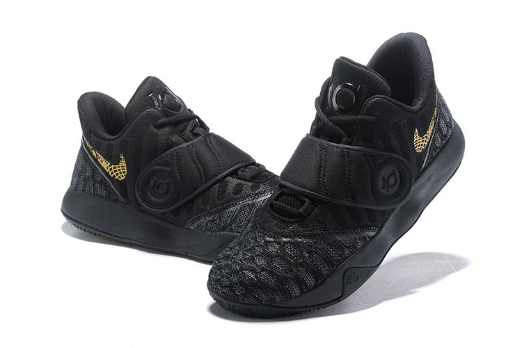 Nike KD Trey 5 VI Black Gold Men s Basketball Shoes  84d6ae4fb