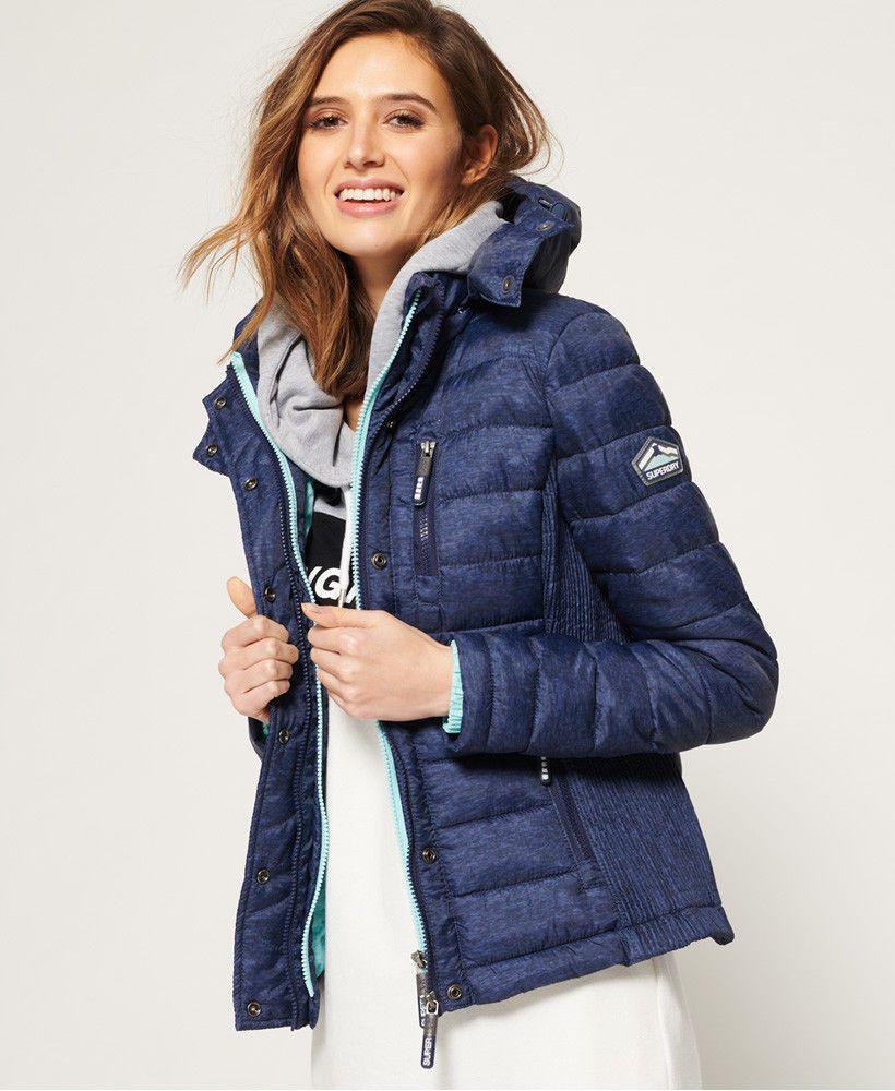 Womens Superdry Fuji Slim Double Zip Hooded Jacket Ultramarine Navy Ebay Pinterest Sweater Wearing Superdry Jackets Hooded Jacket Blue Coats Jackets Women [ 1000 x 820 Pixel ]