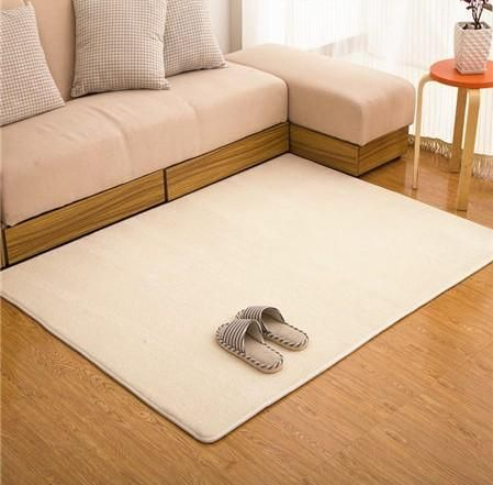 Adasmile Fashion Memory Foam Solid Mat Area Rug Bedroom Rugs Mats Carpet Doormat For Hallway Living