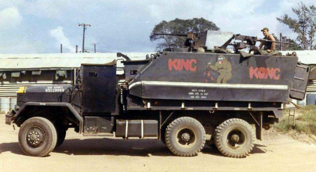 When The Army Went Mad Max Vietnam Gun Trucks 16 Photos