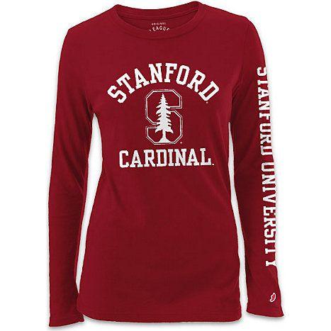 88c547226 Product  Stanford University Cardinal Women s Long Sleeve T-Shirt ...