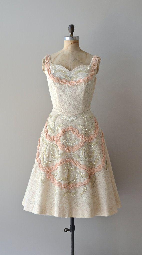 1950's Lace Dress