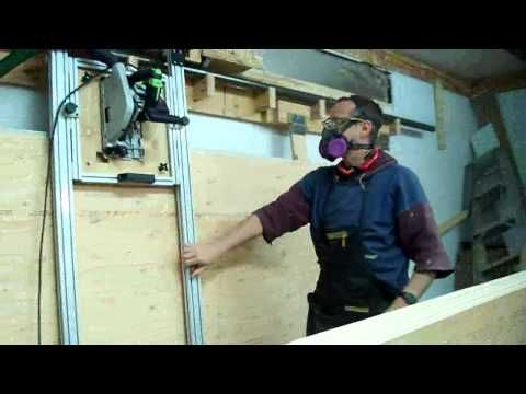 rip ray sliding carriage panel saw first try youtube toolsthatrule pinterest selbst bauen. Black Bedroom Furniture Sets. Home Design Ideas