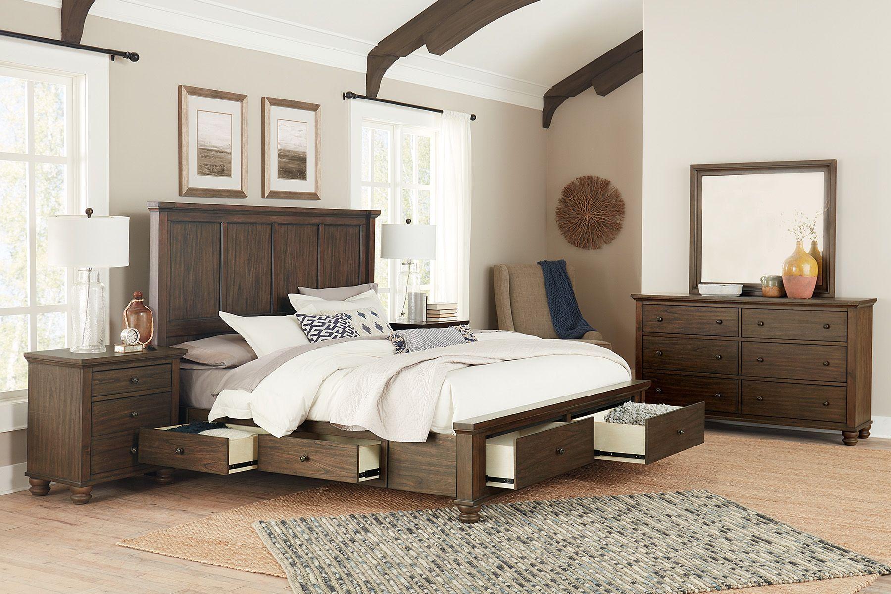 Bedroom Storage Maximized Storage Bed Bedroom Set King Bedroom Sets
