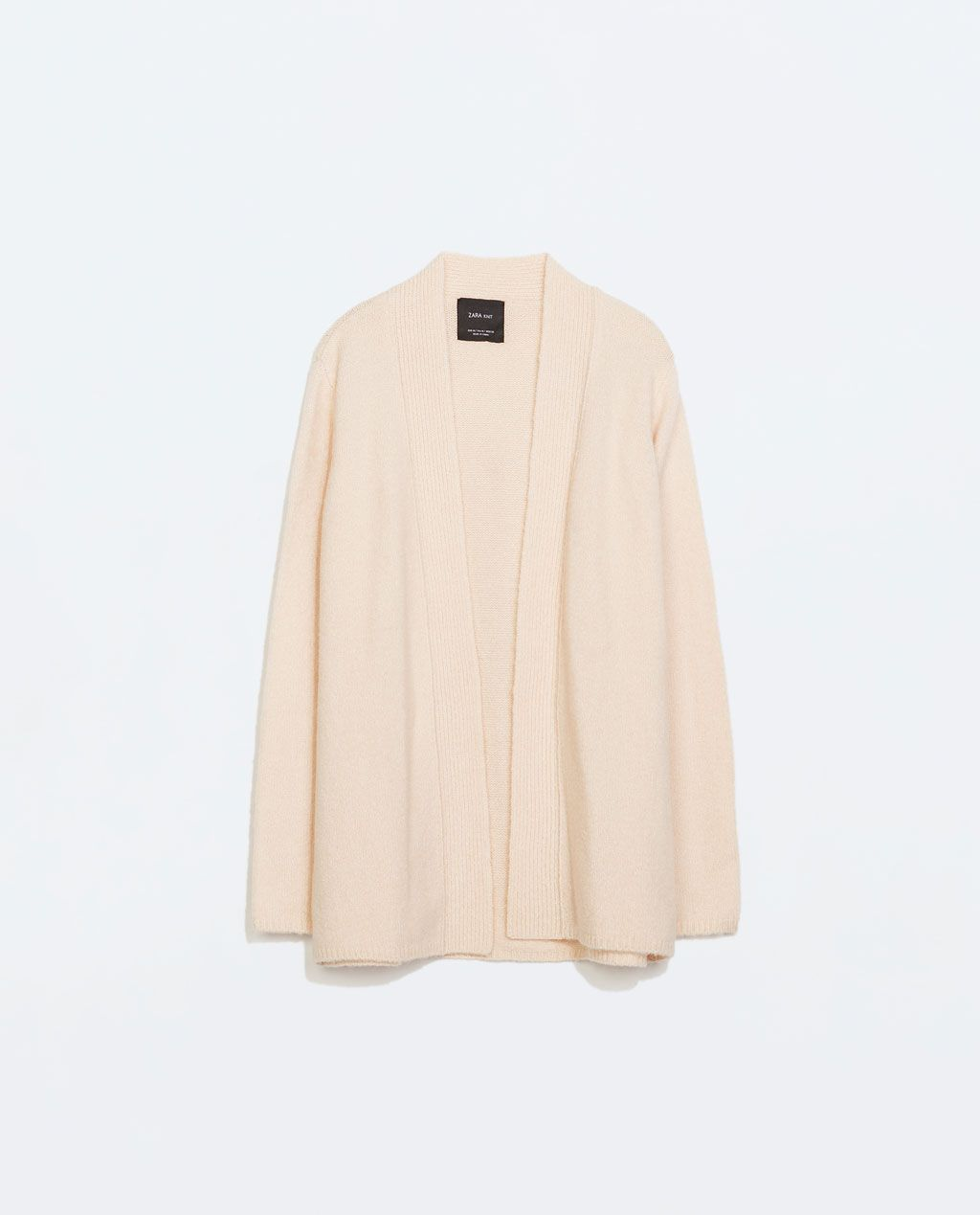 ZARA - NEW THIS WEEK - DRAPED CARDIGAN | Wish I Might | Pinterest ...