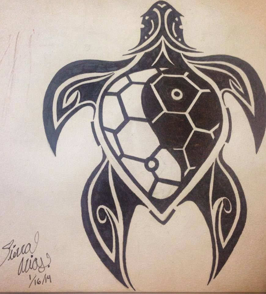 This Yinyang Turtle Tattoo Was Created As A Ohana Cover Up My