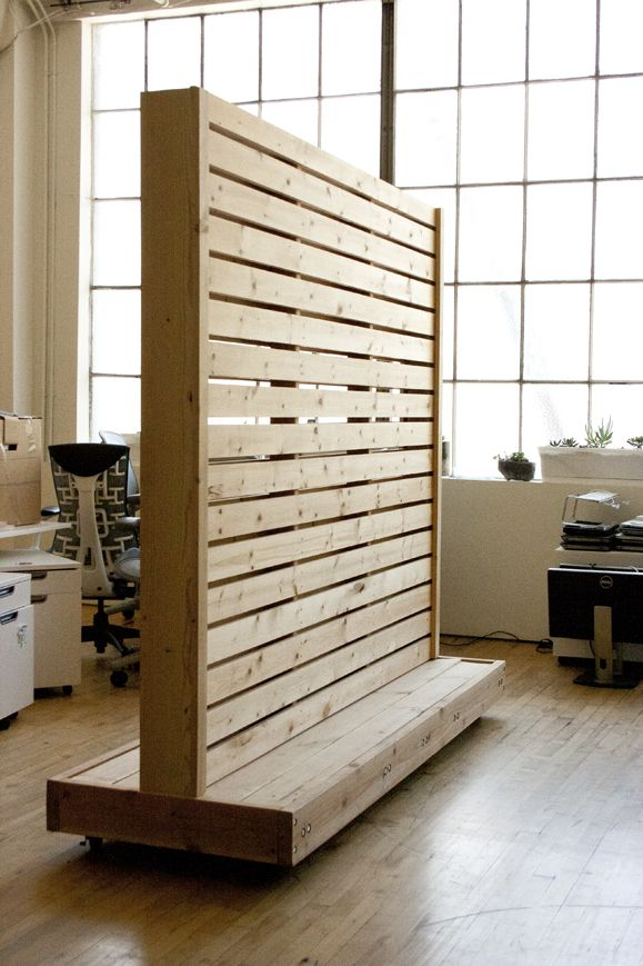Rolling wall partition bay area custom furniture work partition pinterest wall partition - Readymade partition walls ...